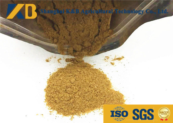 Brown Color Dry Fish Powder Animal Feed Additives Organic Fish Meal For Chickens